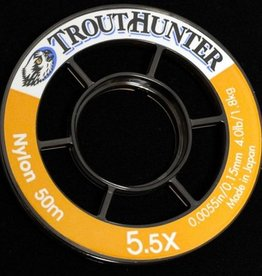 TROUTHUNTER NYLON TIPPET - 50 METER SPOOLS