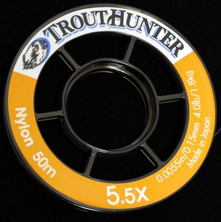 TROUTHUNTER, LLC TROUTHUNTER NYLON TIPPET - 50 METER SPOOLS