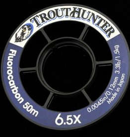 TROUTHUNTER TROUTHUNTER FLUOROCARBON TIPPET - 50 METER SPOOLS