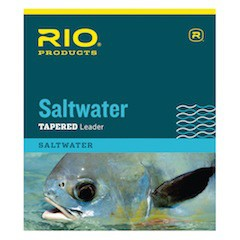 RIO SALTWATER TAPERED LEADERS - 10 FOOT