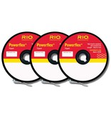 RIO POWERFLEX TIPPET 3 PACK - 4-6X