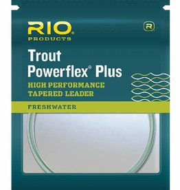 RIO POWERFLEX PLUS TROUT LEADER - 2 PACK