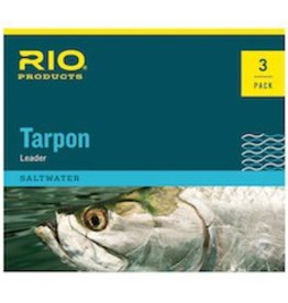 RIO PRODUCTS RIO FLUOROCARBON HAND TIED TARPON LEADERS - 3 PACK