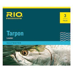 RIO FLUOROCARBON HAND TIED TARPON LEADERS - 3 PACK