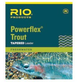 RIO 12' POWERFLEX KNOTLESS LEADER - SINGLE PACK