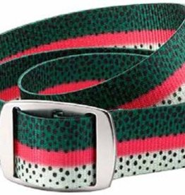 CROAKIES CROAKIES FISH PRINT BELTS