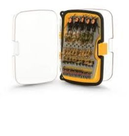 Scientific Anglers SCIENTIFIC ANGLERS WATERPROOF COMPACT 164 ANGLED FLY BOX