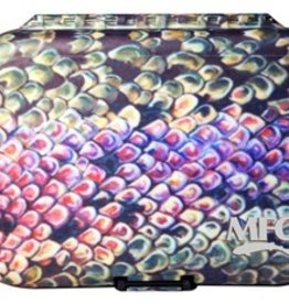 MONTANA FLY MFC PLASTIC FLY BOX - UDESEN RAINBOW TROUT