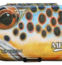 Montana Fly MFC PLASTIC FLY BOX - UDESEN EXTREME BROWN