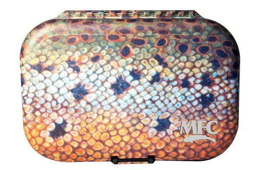 Montana Fly MFC PLASTIC FLY BOX - UDESEN BROWN