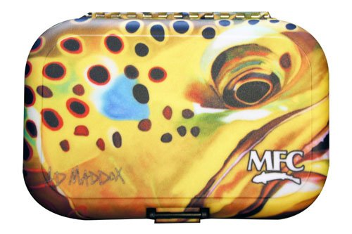 Montana Fly MFC PLASTIC FLY BOX - MADDOX SPOTTED FEVER