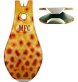 MONTANA FLY MFC TUNGSTEN CARBIDE WIDE GRIP NIPPER - BROWN TROUT PRINT