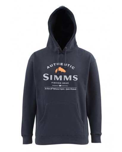 SIMMS SIMMS BADGE OF AUTHENTICITY HOODY