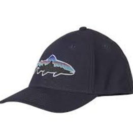PATAGONIA PATAGONIA FITZ ROY TROUT STRETCH FIT CAP - CLOSEOUT