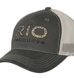 RIO PRODUCTS RIO BROWN TROUT LOGO TRUCKER - CLOSEOUT
