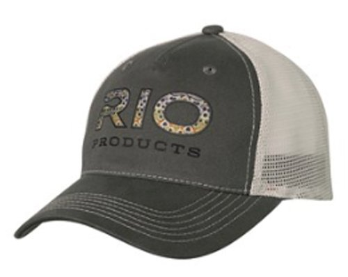 RIO BROWN TROUT LOGO TRUCKER