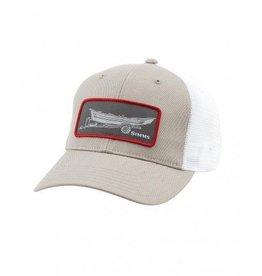 SIMMS HIGH CROWN PATCH TRUCKER CAP