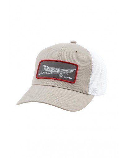 SIMMS HIGH CROWN PATCH TRUCKER CAP