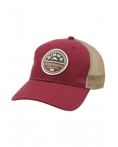 SIMMS SIMMS PATCH TRUCKER CAP - DISCONTINUED
