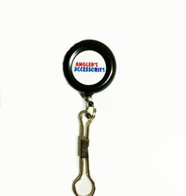 Anglers Accessories PIN ON RETRACTOR WITH NYLON CABLE