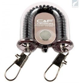 C&F DESIGNS 2-IN-1 RETRACTOR