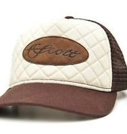 SCOTT FLY ROD COMPANY SCOTT FLY RODS TAN/CREAM QUILTED HAT