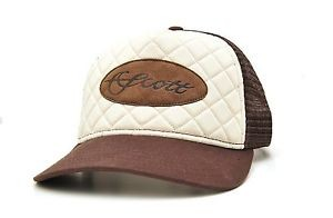 SCOTT FLY ROD COMPANY SCOTT FLY RODS TAN/CREAM QUILTED HAT - ON SALE