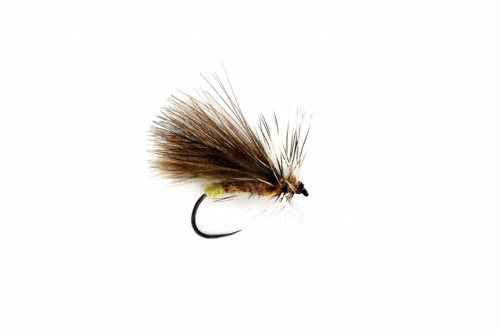 Fulling Mill CDC DOUBLE WING CADDIS - BARBLESS