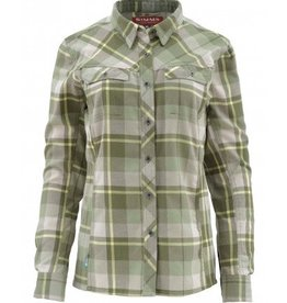 SIMMS SIMMS WOMEN'S WOOL BLEND FLANNEL