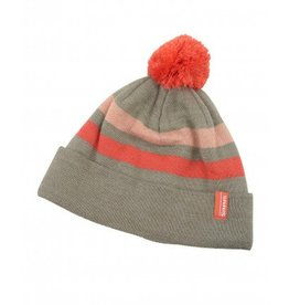 SIMMS SIMMS WOMEN'S FLEECE LINED POM HAT