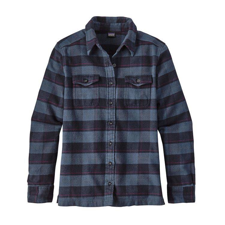 PATAGONIA PATAGONIA WOMENS LONG-SLEEVED FJORD FLANNEL SHIRT