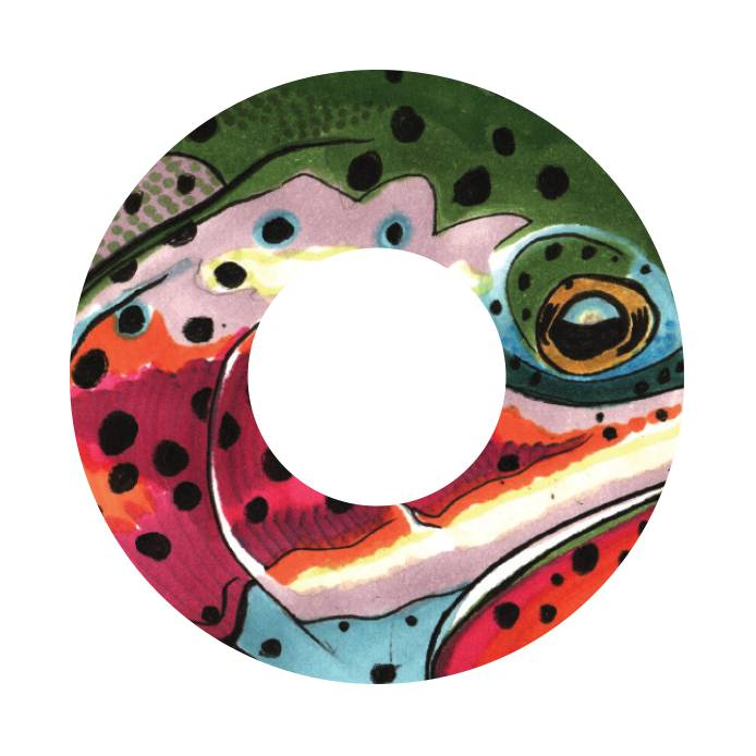 REDINGTON REDINGTON i.D REEL DECAL