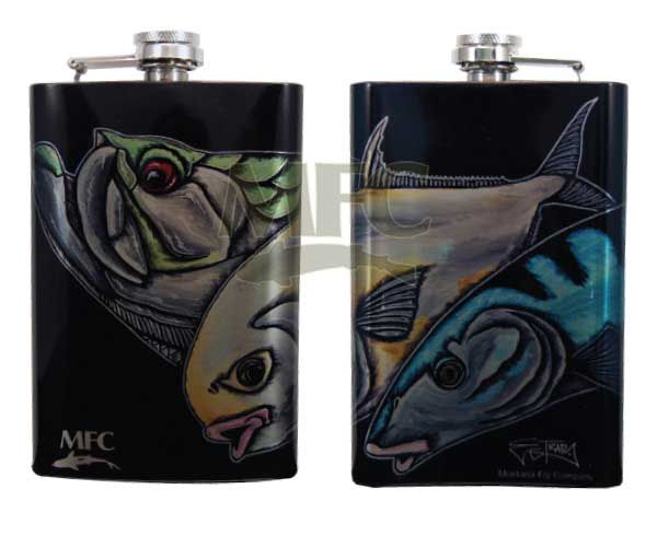 MONTANA FLY MFC STAINLESS STEEL HIP FLASK - ESTRADA'S SLAM