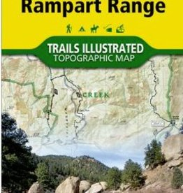NATIONAL GEOGRAPHIC NATIONAL GEOGRAPHIC TOPO MAP #135 - Deckers/Rampart Range