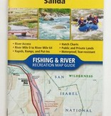 NATIONAL GEOGRAPHIC NATIONAL GEOGRAPHIC RIVER MAP - ARKANSAS RIVER