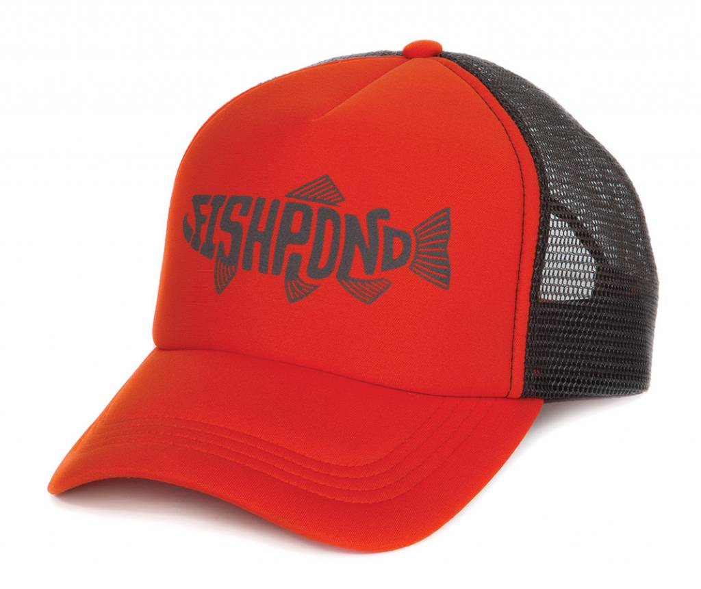 FISHPOND FISHPOND PESCADO FOAM TRUCKER HAT CUTTHROAT ORANGE