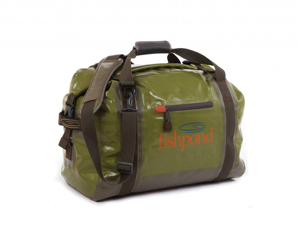 FISHPOND FISHPOND WESTWATER ROLL-TOP DUFFEL - CUTTHROAT GREEN