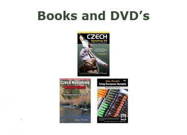 Books and DVD's