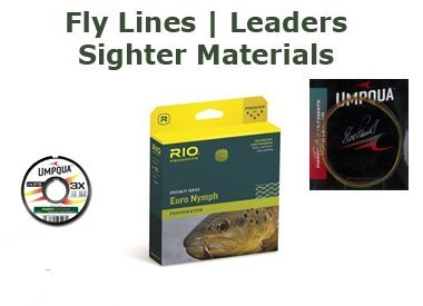 Fly Lines | Leaders | Sighter Material | Tippet Rings