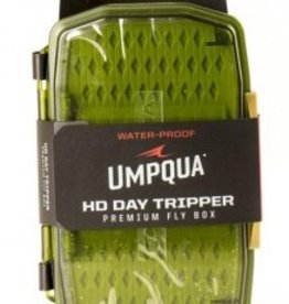 UMPQUA UPG HD MEDIUM DAYTRIPPER FLY BOX - OLIVE