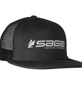 SAGE SAGE FOAM TRUCKER HAT - BLACK