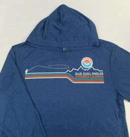 BLUE QUILL ANGLER BQA LOGO CONFLUENCE HOODY