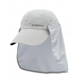SIMMS SIMMS BUGSTOPPER SUNSHIELD HAT - ASH