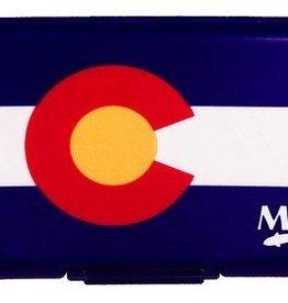 MONTANA FLY MFC POLY FLY BOX - COLORADO FLAG