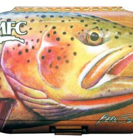 MONTANA FLY MFC POLY FLY BOX - SUNDELL RIVER FLAME CUTTY