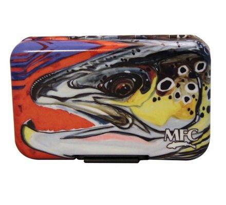 MONTANA FLY MFC POLY FLY BOX - BORSKI CHORUS LINE BROWN
