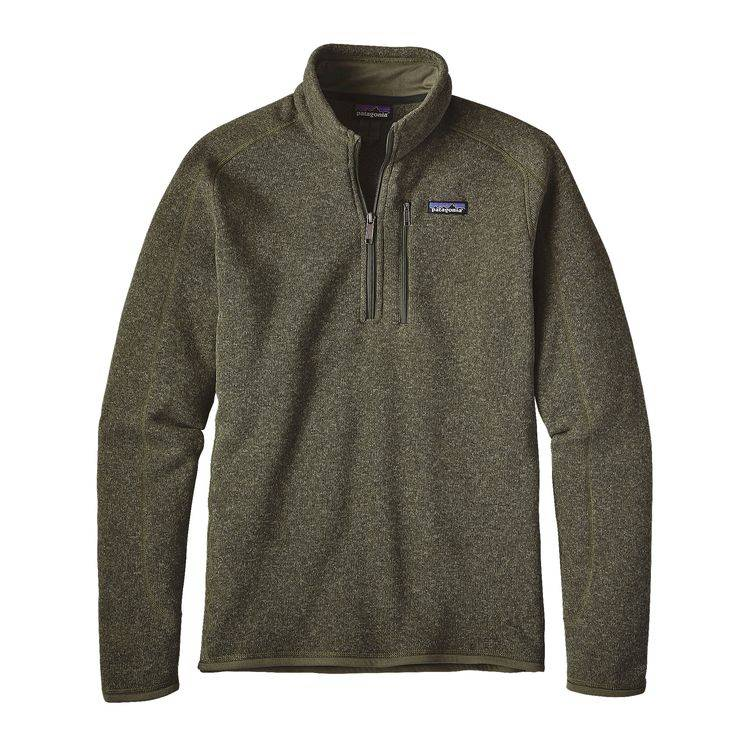 PATAGONIA PATAGONIA MENS BETTER SWEATER 1/4 ZIP - SMALL - ON SALE!!