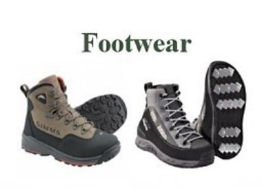 WADING BOOTS AND FOOTWEAR