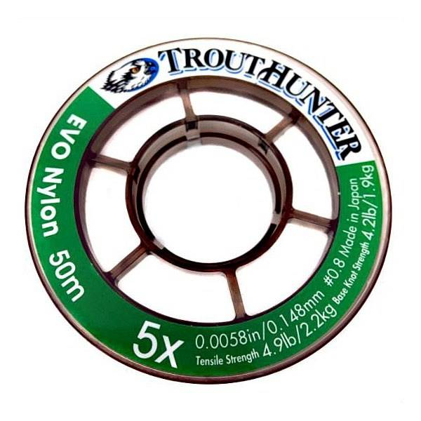 TROUTHUNTER TROUTHUNTER EVO NYLON TIPPET - 50 METER SPOOL