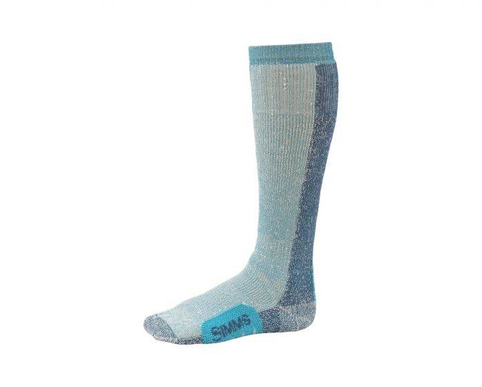 SIMMS SIMMS WOMENS GUIDE THERMAL OTC SOCK - SEAGLASS